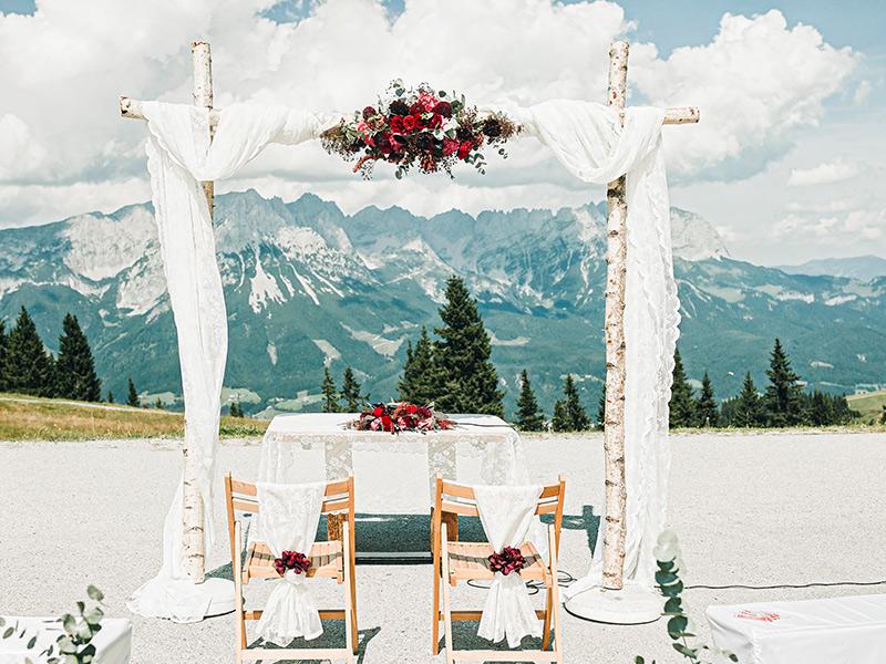 Übrigens auch eine perfekte Location für die Hochzeitsfotos.